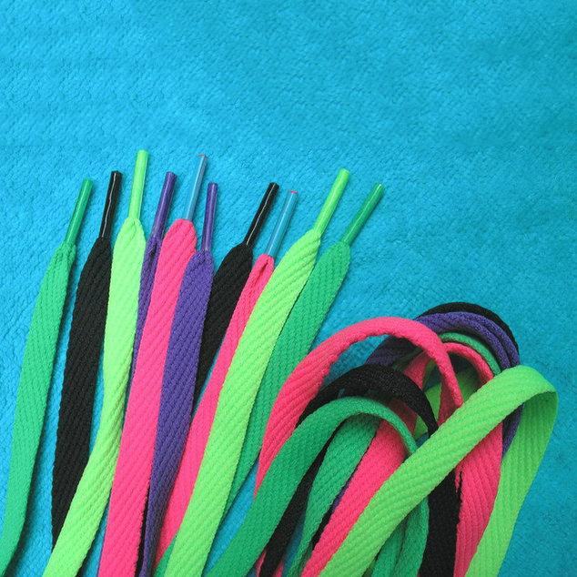 shoe lace manufacturing , wholesale custom shoelace , satin shoe lace