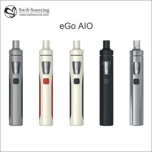 New arrival!Joyetech eGo AIO start kit e cig joyetech All In One battery with e-liquid illumination LED vapor smoke