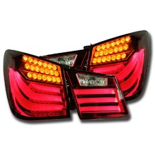 NightEye Car Styling for Chevrolet Cruze Tail Lights Design 2012 Cruze LED Tail Light Rear Lamp DRL+Brake+Park+Signal