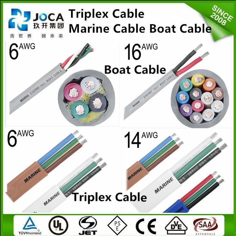 Flat Boat Wire 12 Awg Round Boat Cable 10 Awg - Buy Round Boat Cable ...