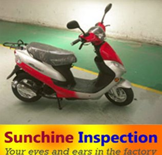 Electric scooter inspection / Factory Audit & Machinery Inspection / High Quality Control in China
