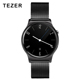 TEZET GW01A Best Quality 128M+64M Mobile Watch Phones BT Android MTK2502C Smart Watch