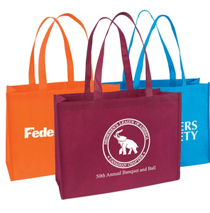 Eco-Friendly Trade Show Non-Woven Shopping Tote Bag