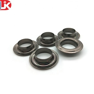 Made in China wholesale cheap metal Iron black zinc plating rivets and eyelets for shoes