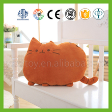 2016 high quality novelty cat pillow for home life