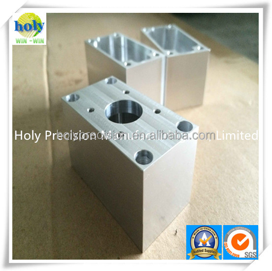 Alibaba Gold Supplier Holy High Precision Customized cnc machining service cnc aluminum suppressor spare parts for car