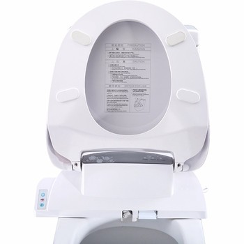 Electronic Jet Spray Flush Down Smart Toilet Seat With Bidet