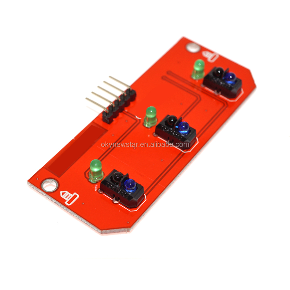 Smart Car 3-Channel Motion Infrared IR Line Tracking Chip Sensor <strong>Module</strong>