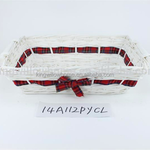 christmas basket Gift packing basket,Wicker tray,tray
