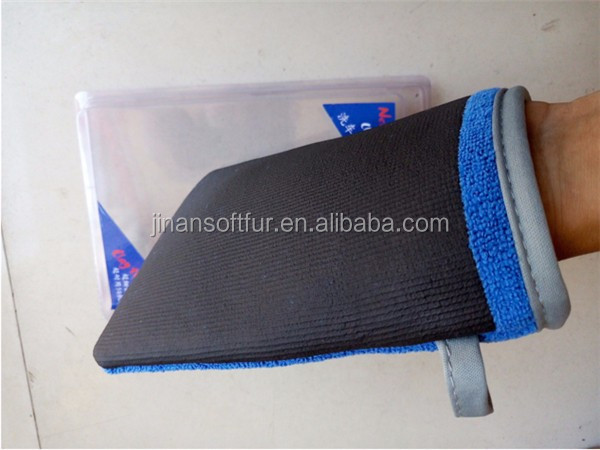 New Arrival Microfiber Car Detailing Magic Cleaning Clay Mitt Glove Cloth