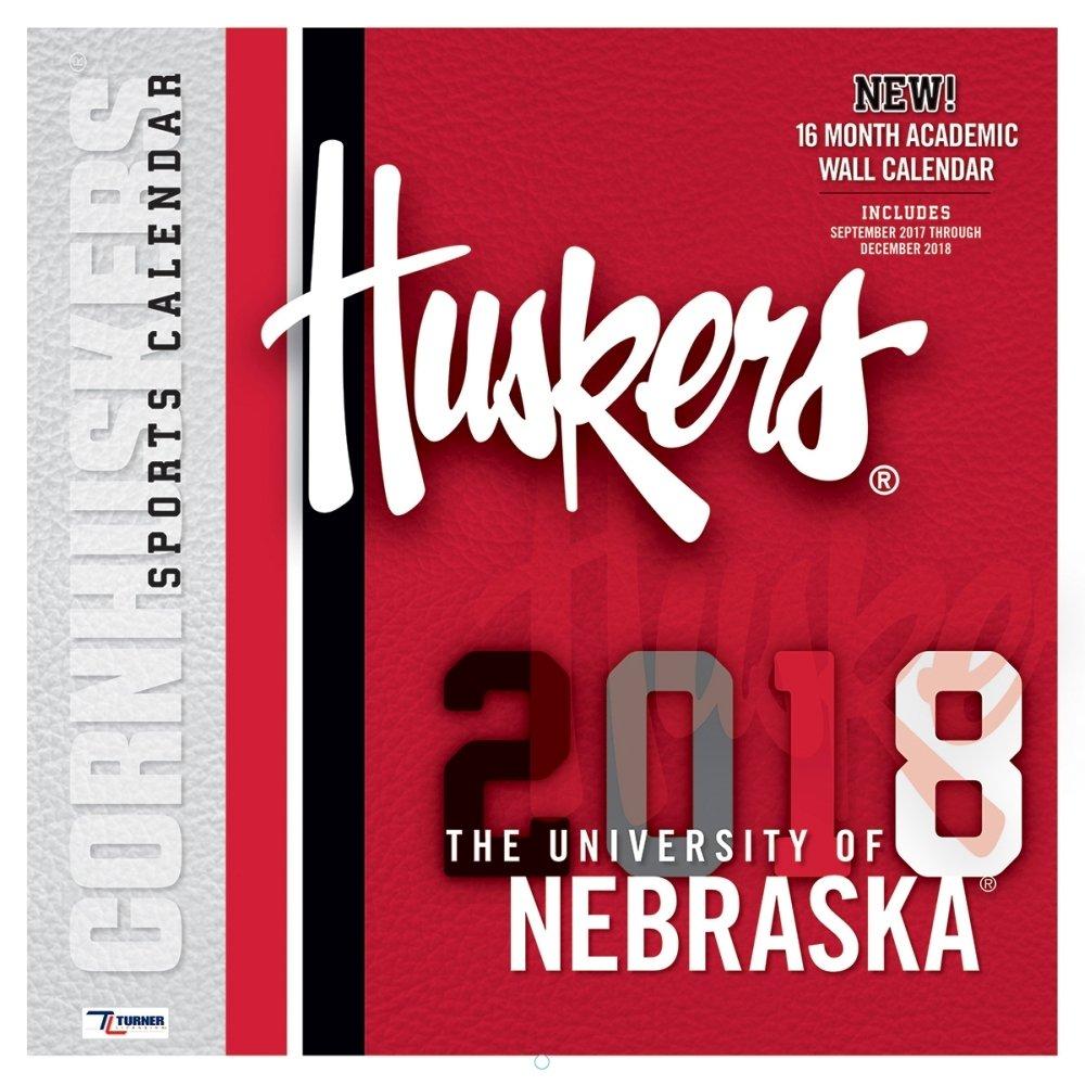 2018 Nebraska Cornhuskers Wall Calendar