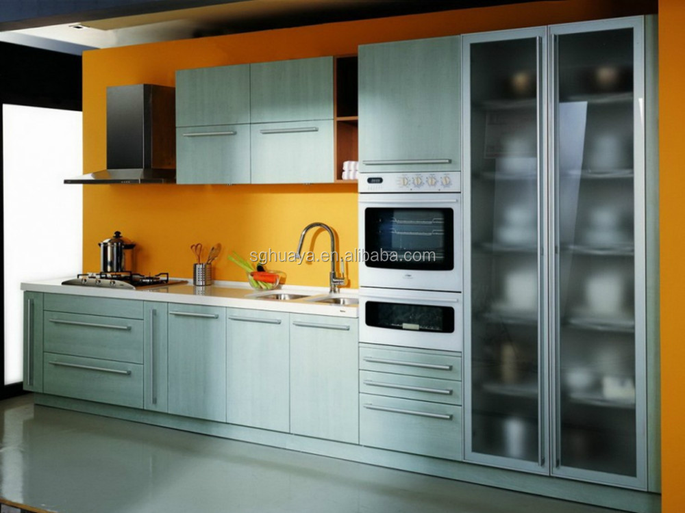 Cheap stainless steel kitchen cabinets bar cabinet for Cheap metal kitchen cabinets