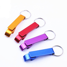 custom engraved promotion products colorful metal bottle opener keychain,custom cheap blank aluminum bottle opener