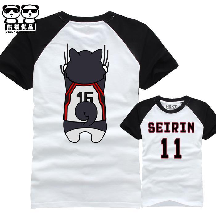 T-shirts Men's Clothing New Anime Kuroko No Basuke T-shirt Men Women Short Sleeve Summer Dress Costumes Tops Unisex Kurokos Basketball T Shirt