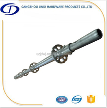 ringlock scaffolding parts galvanized standard with rossete