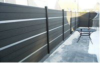 Wpc Garden Wooden Fence Panels Wpc Wall Panels
