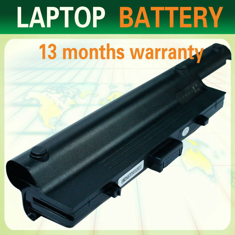 6 cells 11.1 V 4400mAh li-ion laptop battery for Dell Vostro 1200 series,Compal JFT00 series