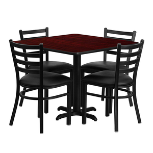 American Restaurant Tables And Chairs Set 4
