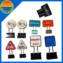 Office Custom logo metal binder clip