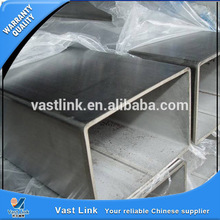 galvanized rectangle/square steel square pipes for machinery