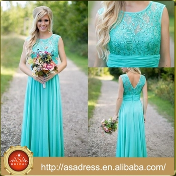 Bdy03 Latest Lace Turquoise Bridesmaid Dresses Prom Whole Dress Product On