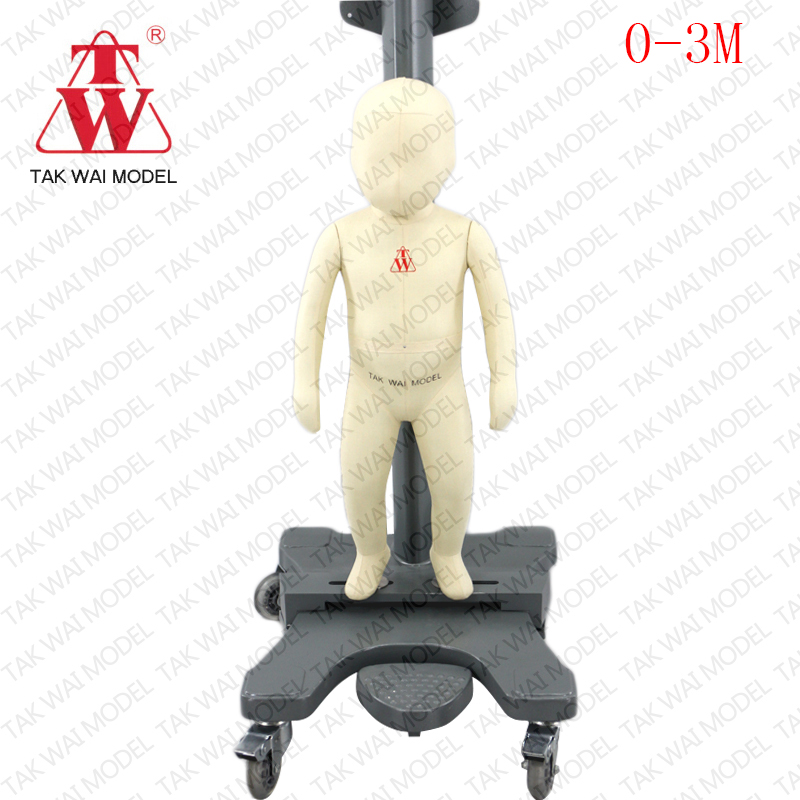 High Quality full baby size realistic child mannequin for sale baby mannequin