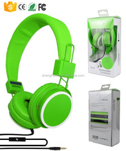 Free sample mp3 music song wired headphones wholesale for mobile phone android