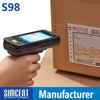 Barcode Scanner With Display HD Data Terminal 1D Bar Code Reader