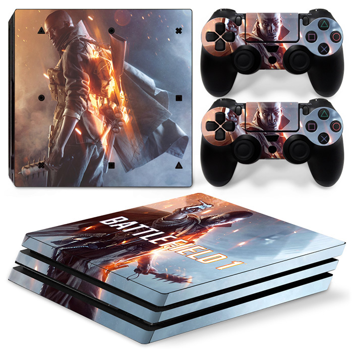 Waterproof Skin Cover For Playstation4 Pro Games Console Sticker