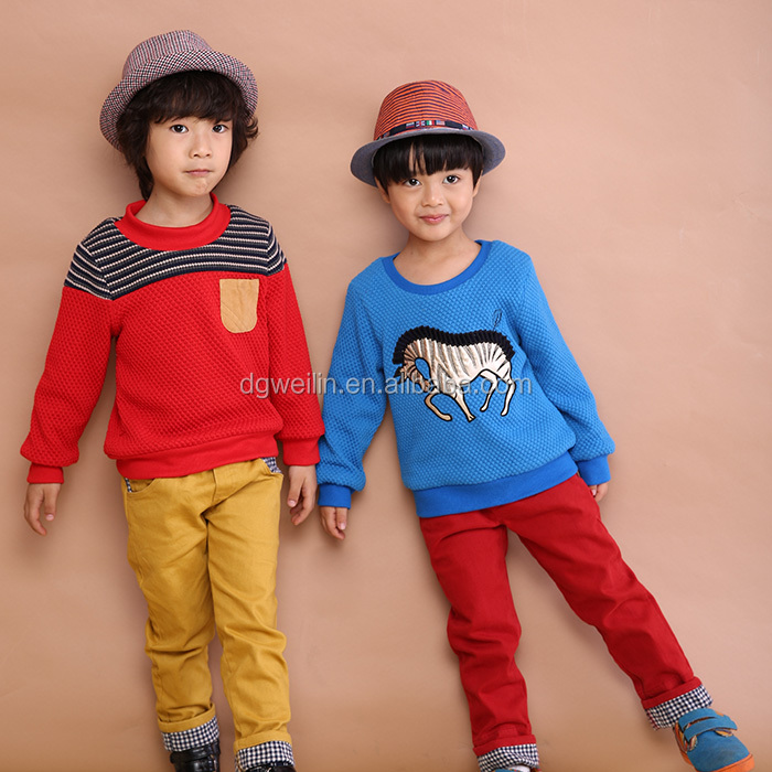 2016 new design kids wear comfortable childrens boutique clothing