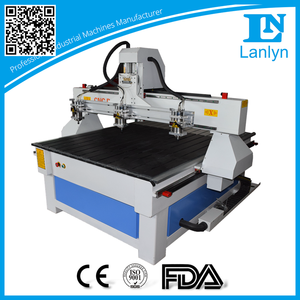 Newest Design Adjustable Spindles Multi Head CNC Router for Woodworking
