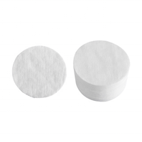 High quality organic cotton pads for beauty salon cotton rounds makeup organic