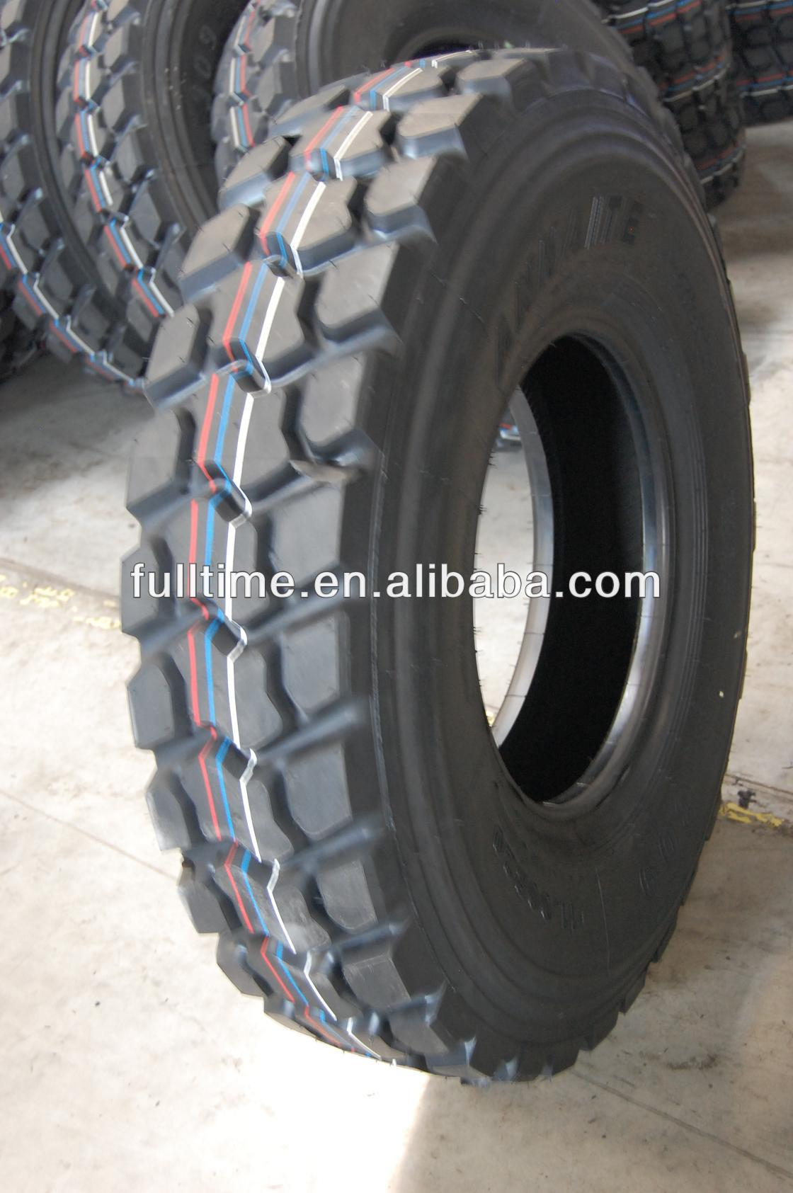 qiangwei brand tires 1200r24 truck for Coalmine and mountainous region