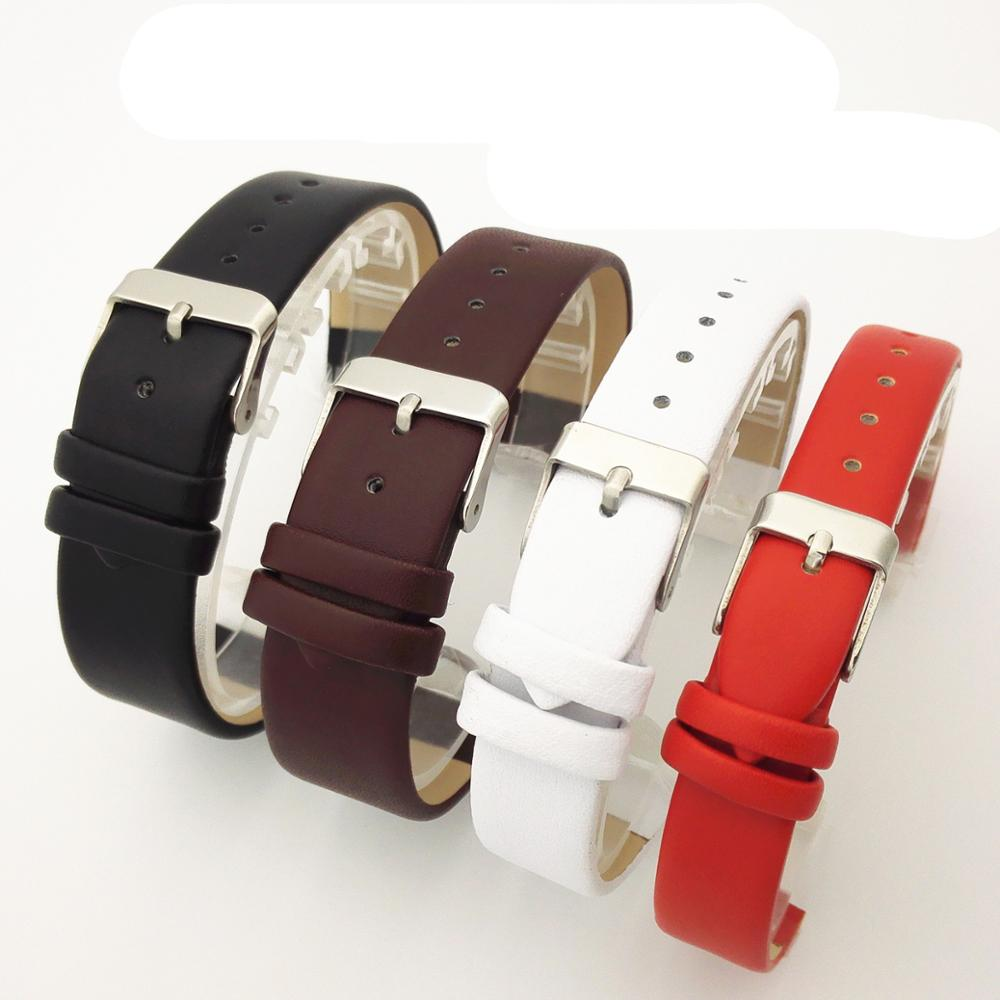 Queena Customized Soft Watcheband Fashion Leather Watch Strap