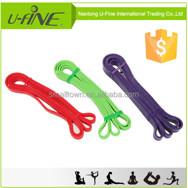 100% Natural Latex Resistance Exercise Loop Bands