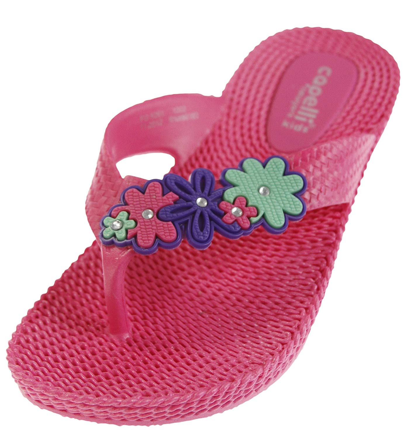 1fa7b22111 Buy Capelli New York Ladies Woven Flip Flop with Lace Flower in ...