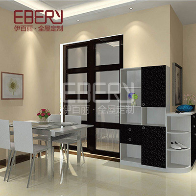 High class dinning room furniture set wood cabinet with drawer