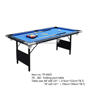 Pool Game Table Folding Billiard Table Tp Buy Pool - 84 pool table