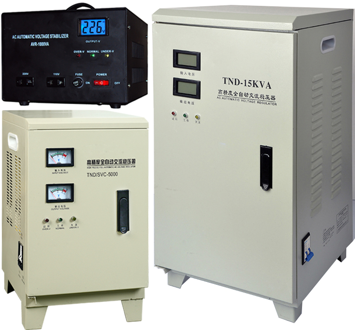 5kva servo motor automatic voltage regulator stabilizer