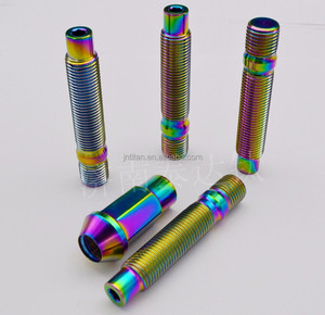 Customized titanium products for cars modify