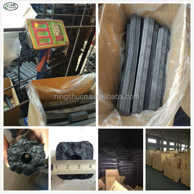 High Quality No-smoke Hardwood Sawdust Briquette Charcoal for BBQ