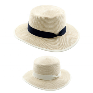 Cheap Custom Woven Paper Straw Boater Hat China Wholesale Boater Straw Hat 8924d862e079