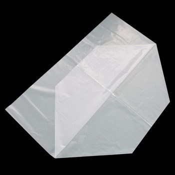 Cheap Wholesale Big Size Ldpe Square Bottom Clear Plastic Bags ...
