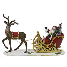 Polyresin Santa <span class=keywords><strong>Trenó</strong></span> Da Rena Do <span class=keywords><strong>Natal</strong></span> Decor