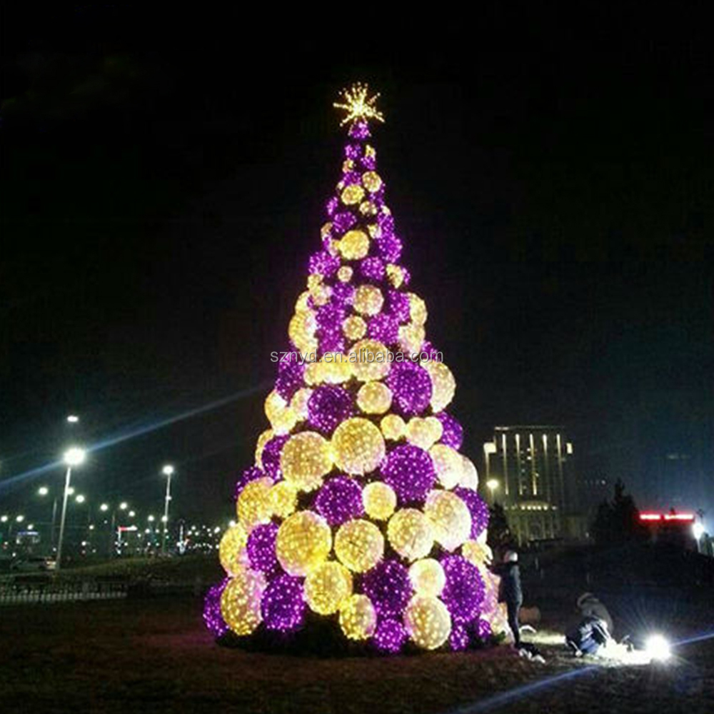 Outdoor Led Christmas Tree Metal Giant Trees