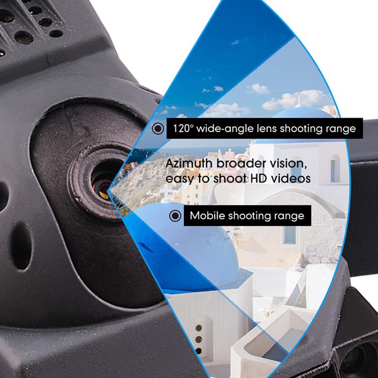 New Arrival 3.7V 500mAh 720P Wide Angle Plastic Radio Control Toy Camera Drone SJY-JY019