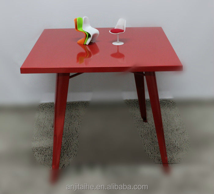 TH-T1001 new design Metal Coffee Table with colorful powder coating