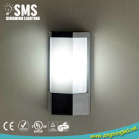IP65 Aluminum Waterproof E27 CFL Outdoor Wall Light Fixture