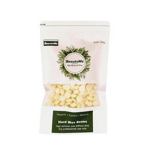 BeautoMe 150g cream organic strip less depilatory wax bead hot hard wax beans for hair removal