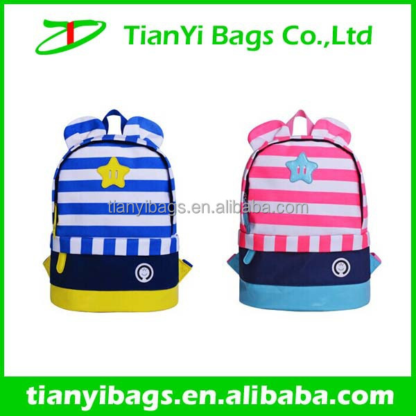 Wholesale kids brand name school bags